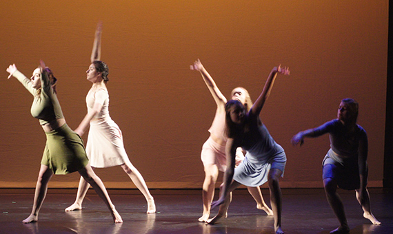 Dancers perform at the Corcoran School of the Arts and Design