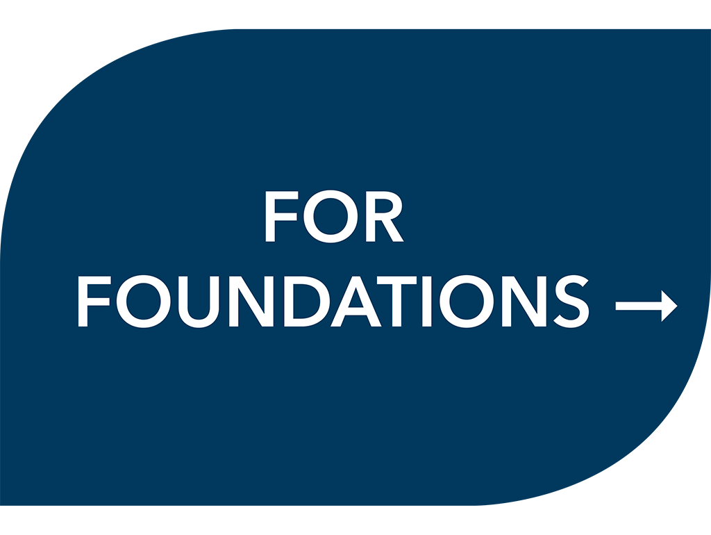 For foundation partners